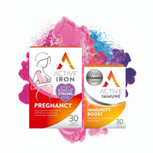 Load image into Gallery viewer, Active Iron Pregnancy & Active Immune | 30 Day Bundle