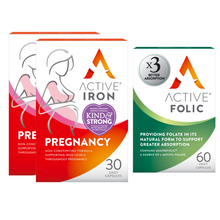 Load image into Gallery viewer, Active Iron Pregnancy & Active Folic | Bundle