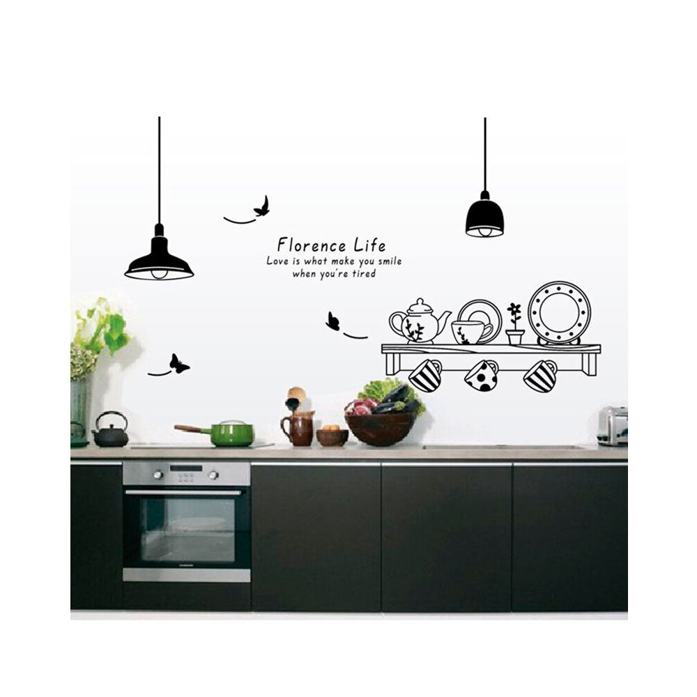 Vinilo Decorativo Sticker Autoadhesivo para Pared Cocina AY9138