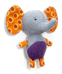 Elephant Rattle - Grey