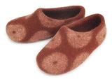 Donut Slipper - Red-Brown