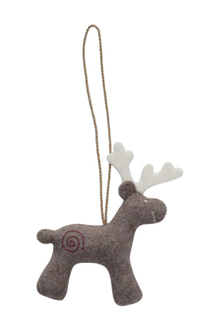 Ornament - Deer Natural