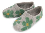 Flower Slipper - Green