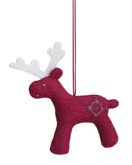 Ornament - Deer Red
