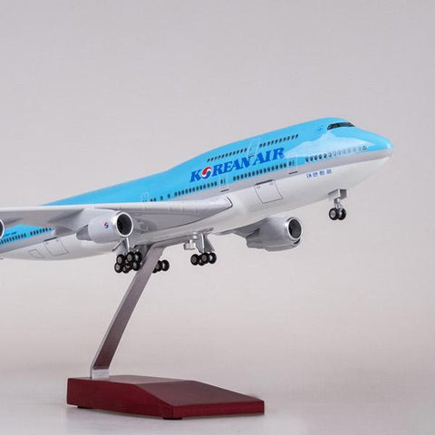 Korean Air Airbus 380 Boeing 747 Simulation Civil Aviation Aircraft Model A380