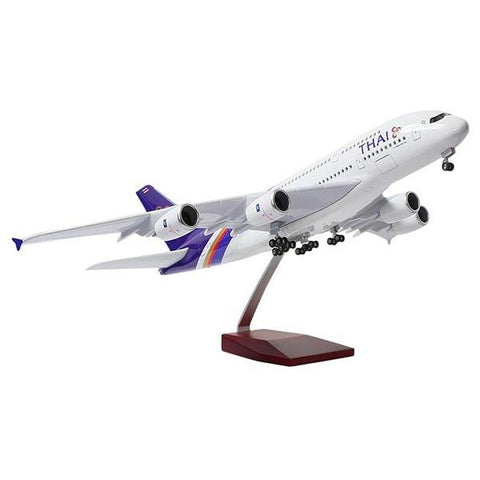 Airbus A380 Model Airplane | Thai Airways | Kamory