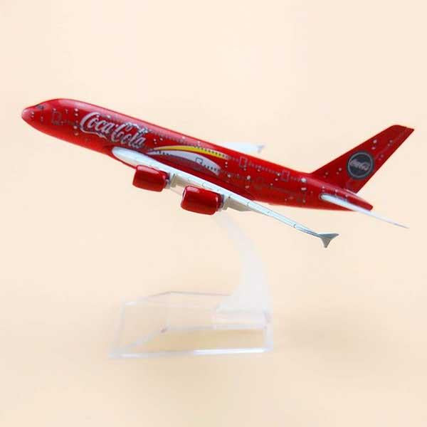 Airbus A380 Model Airplane | Malaysia Airlines with Coca Cola