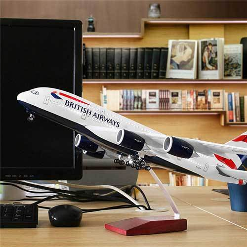AirBus A380 Model Airplane | Britain Airways | Kamory