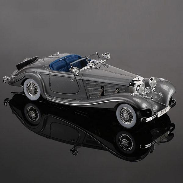 1:18 Mercedes-Benz 500k retro classic car model