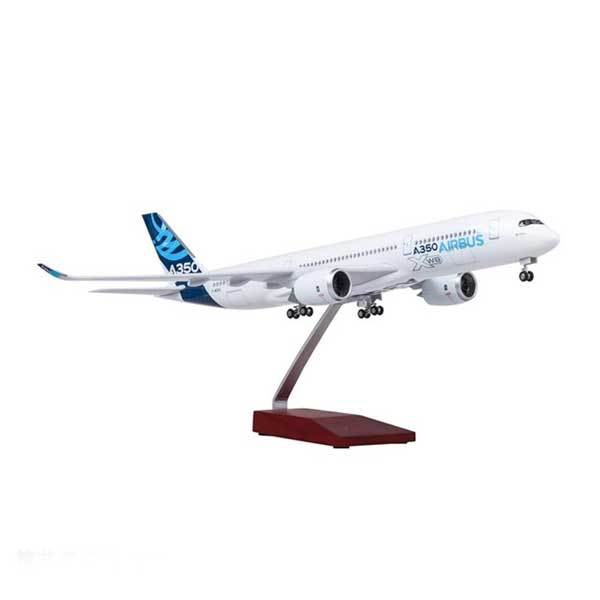 Kamory Model Airplane | Airbus A350 Model Airplane Toy Plane Replica