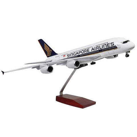 1:400 Scale Singapore Airbus A380 Scale Airplane Model