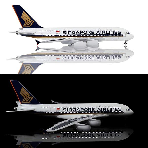 Airbus A380 Airplane Model | Singapore Airlines | Kamory