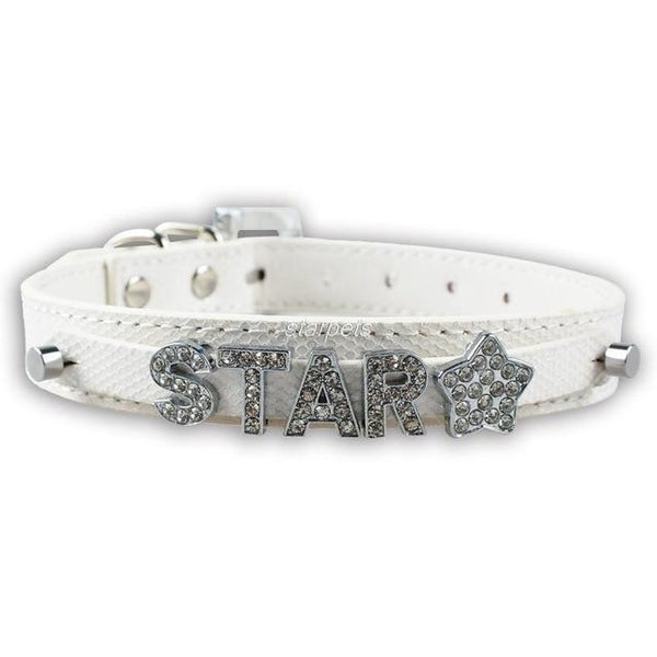 Bling Personalized Rhinestone Pet Collar