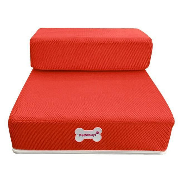 Pet Junxion bed Red / See product descript / International Foldable Stairs for Cats and Dogs