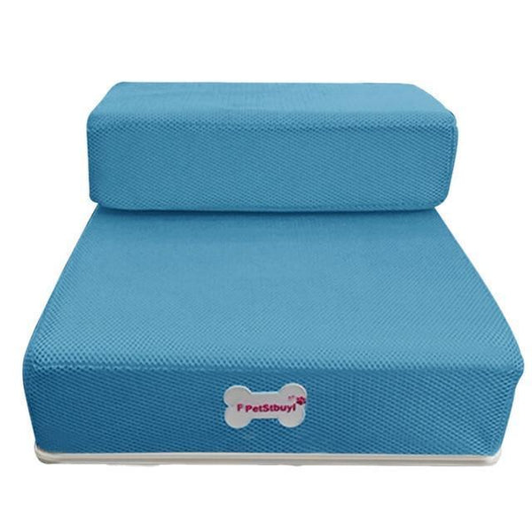 Pet Junxion bed Sky Blue / See product descript / International Foldable Stairs for Cats and Dogs