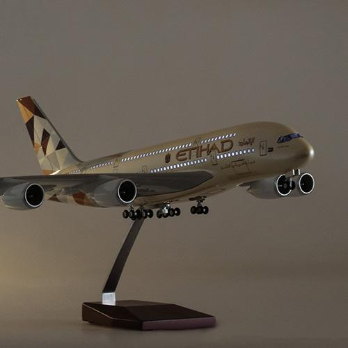 Airbus A380 Model Airplane | Etihad Airways Upgrade with LED