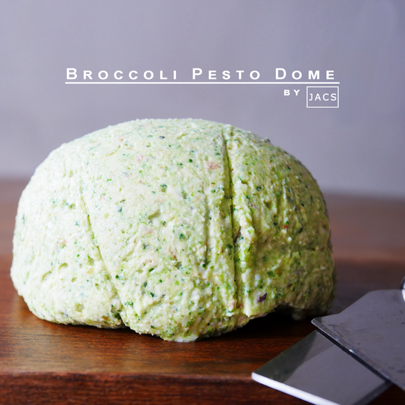 Broccoli Pesto Cheese Dome