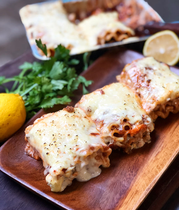 Three Cheese Lasagna Roll- Ups (Tub Size)