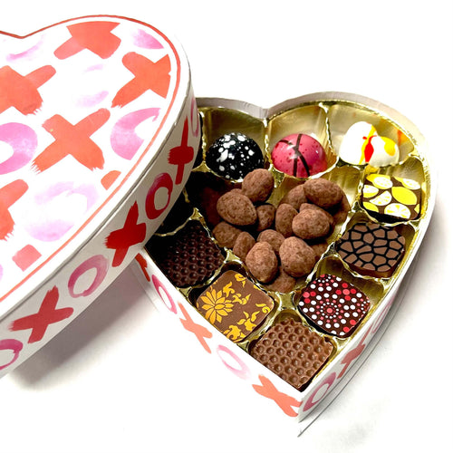 XOXO Small Chocolate Box for Valentine's Days