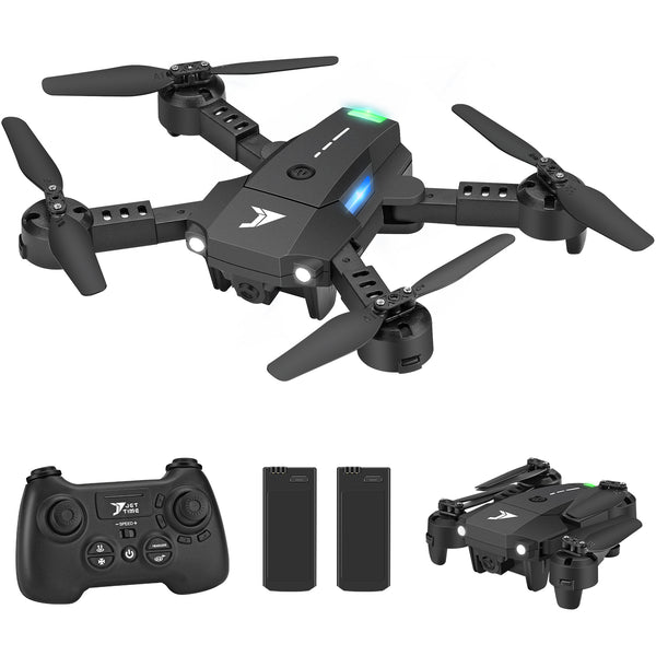 Jettime  JT63   Mini Foldable Drones for Kids and Beginners with Altitude Hold, 3D Flips and Rolls, One Key Take Off,Headless Mode