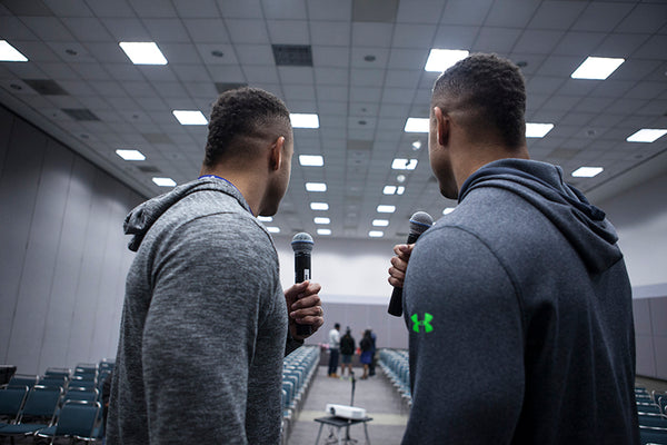 Hodgetwins Comedy Show Debut at the LA Fit Expo