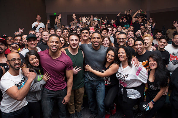 Hodgetwins Debut Stand-Up Comedy Show at the 2016 LA Fit Expo