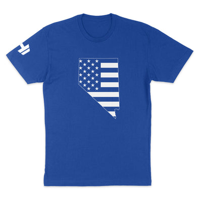 Nevada USA Flag Mens Apparel
