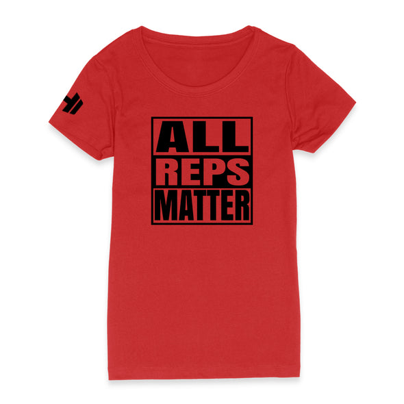 All Reps Matter Black Print Womens Apparel