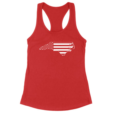North Carolina USA Flag Womens Apparel