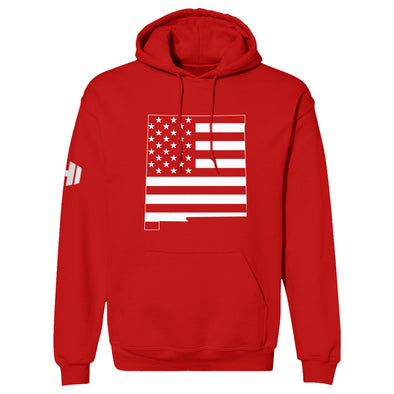 New Mexico USA Flag Hoodie