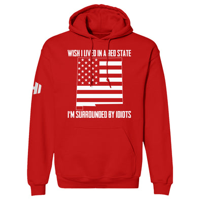 Wish I Lived In A Red State - New Mexico Hoodie