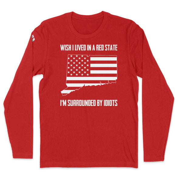 Wish I Lived In A Red State - Connectticut Mens Apparel
