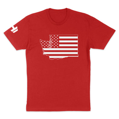 Washington USA Flag Mens Apparel