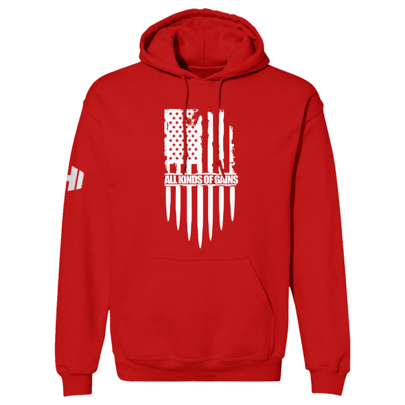 All Kinds Of Gains Flag Hoodie
