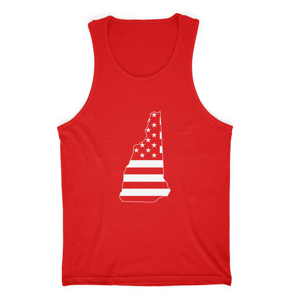 New Hampshire USA Flag Mens Apparel