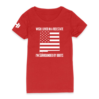 Wish I Lived In A Red State - New Mexico Womens Apparel