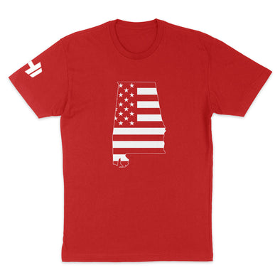 Alabama USA Flag Mens Apparel