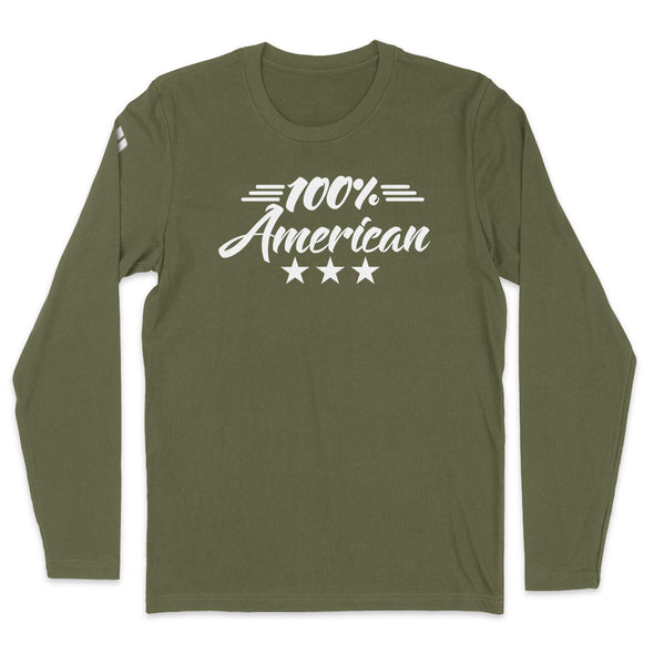 100 Percent American Mens Apparel