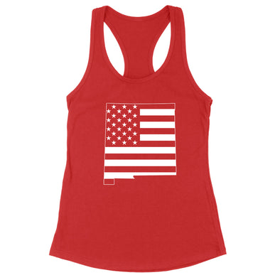 New Mexico USA Flag Womens Apparel