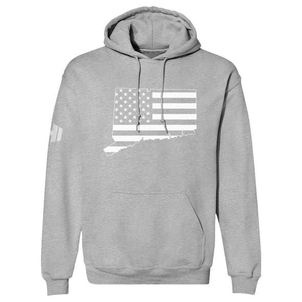 Connecticut USA Flag Hoodie