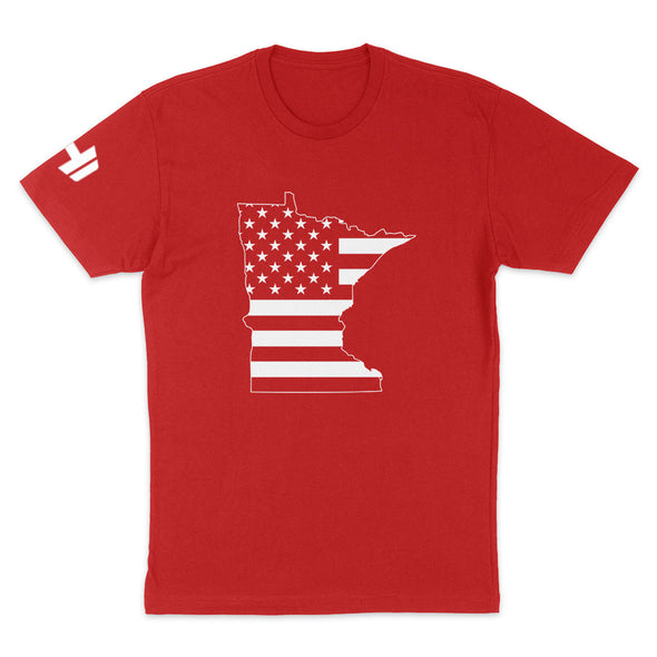 Minnesota USA Flag Mens Apparel
