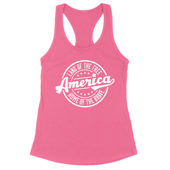 Land Of The Free Womens Apparel