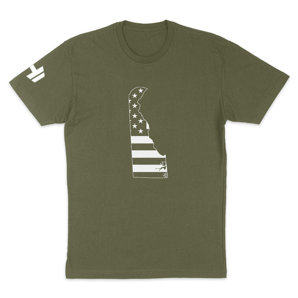 Delaware USA Flag Mens Apparel