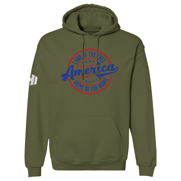 Land Of The Free Color Hoodie