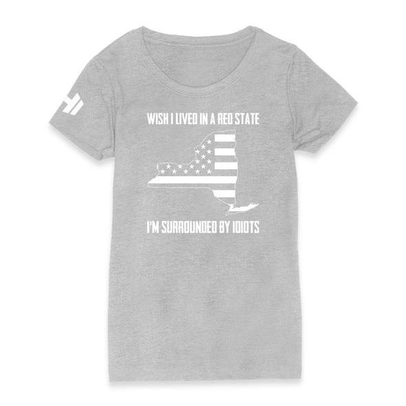 Wish I Lived In A Red State - New York Womens Apparel