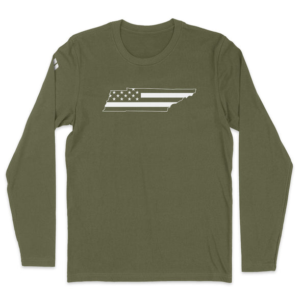 Tennessee USA Flag Mens Apparel