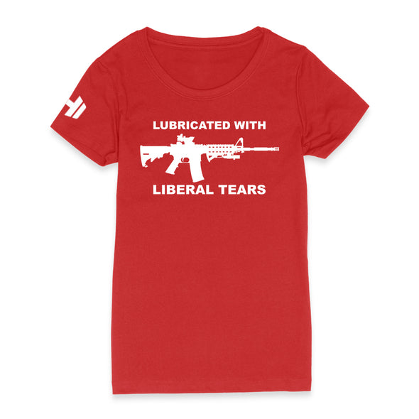 Lubricated With Liberal Tears Womens Apparel