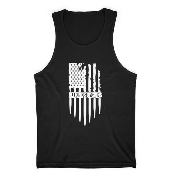 All Kinds Of Gains Flag Mens Apparel