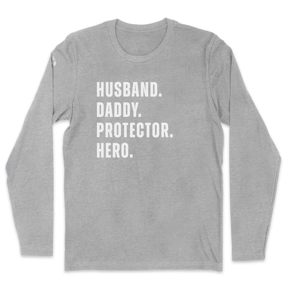 Husband Daddy Protector Hero Mens Apparel