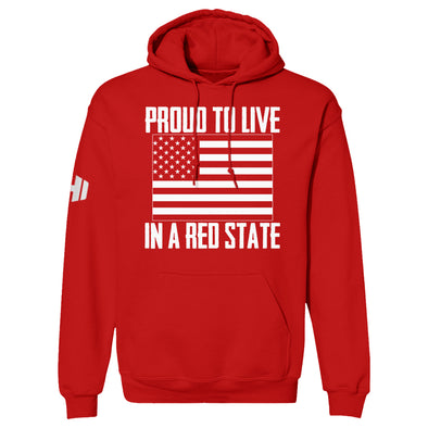 Proud To Live In A Red State - Colorado Hoodie